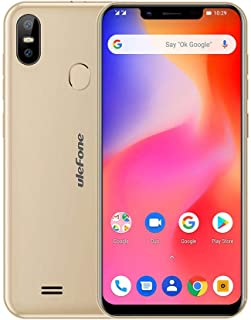 Ulefone S10 Pro Android 8.1 MT6739 Quad Core 2G+16G 4G Smartphone (Gold)