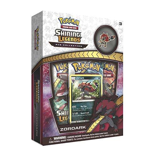 Pokemon TCG: Shining Legends Zoroark Collectible Pin Collection