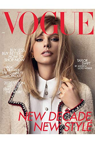 Vogue UK Magazine (January, 2020) Taylor Swift Cover