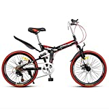Adult Folding Mountain Bike Male and Female Outdoor Bicycles Leisure Mountaineering Bicycle Child