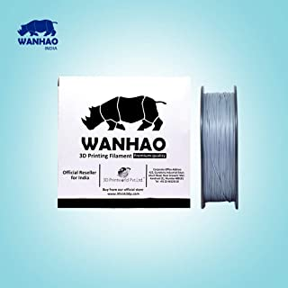 Wanhao 3.00mm ABS 3D Printer Filament - By 3D Print World (Silver)