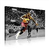 NBA Cleveland Cavaliers Lebron James Leinwand Poster Bild