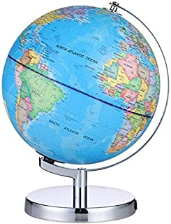 School Globes Interactive World Illuminated Globe for Kids-2-In-1 Standing Political Earth Sphere by Day&Glowing Star Cons...