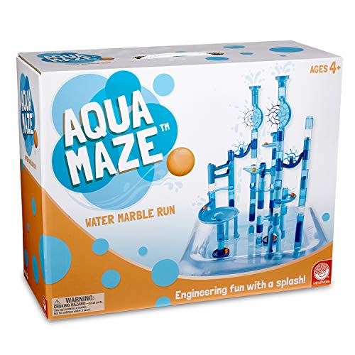 Marble Run Set (Aqua Maze Marble Run) Engineering with a Splash! Over 100 Piece...