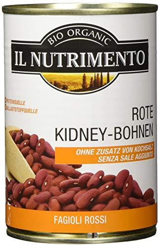 IL NUTRIMENTO Kidney Bohnen - ohne Salz, 12er Pack (12 x 400 g)