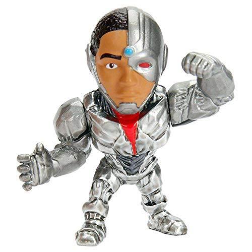 Miniatura Liga da Justiça Metalfigs DieCast 6cm Cyborg M544