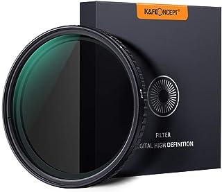 NDフィルター 72mm 可変式 X状ムラなし ND8-ND128減光フィルター 薄型 レンズフィルター K&F Concept【メーカー直営店】