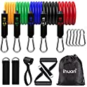 11-Piece Ihuan Resistance Band Set w/ Door Anchor