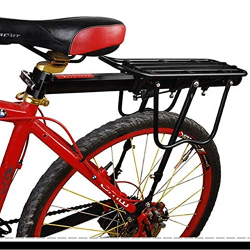 Read About GBZZ Bike Rear Pannier Cycle MTB Bicycle Rack Carrier Quick Disassembly Aluminum Alloy