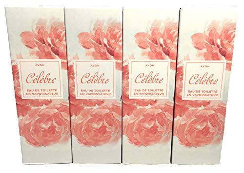 4 x Avon Celebre Eau de Toilette Pour Femme 50ml (Lot de 4 pièces)
