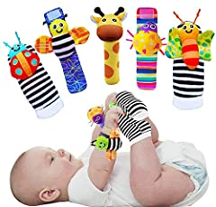 CIENCE BASED DESIGN & EARLY DEVELOPMENT – Scientific studies into the healthy development of babies has lead to the creation of these adorable foot finders socks and baby wrist rattles for infants. Studies show that infant vision capabilities include...