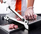 Moongiantgo Manual Meat Slicer Stainless Steel Ribs Bone Cutter Cutting Machine Chicken Duck