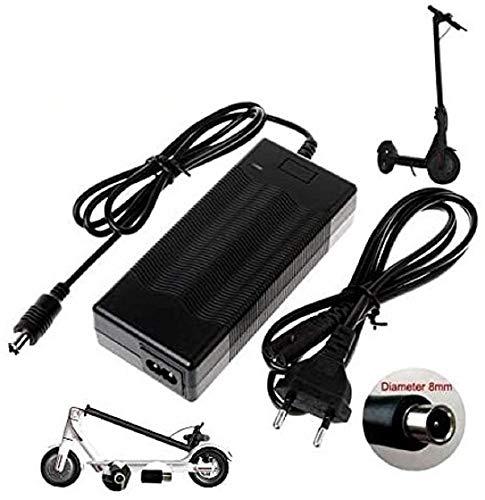 CARGADOR ESP Cargador Corriente 42V 2A Compatible con Reemplazo para Patinete Electrico Mi Electric Scooter M365 Recambio Replacement