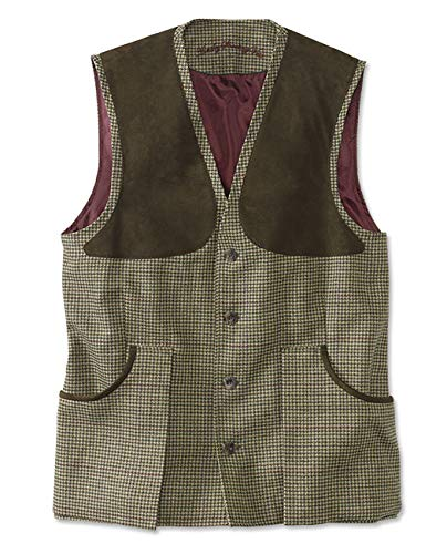 New Orvis Laksen Tweed Shooting Vest/Lasken Tweed Shooting Vest, Ainsley, X Large