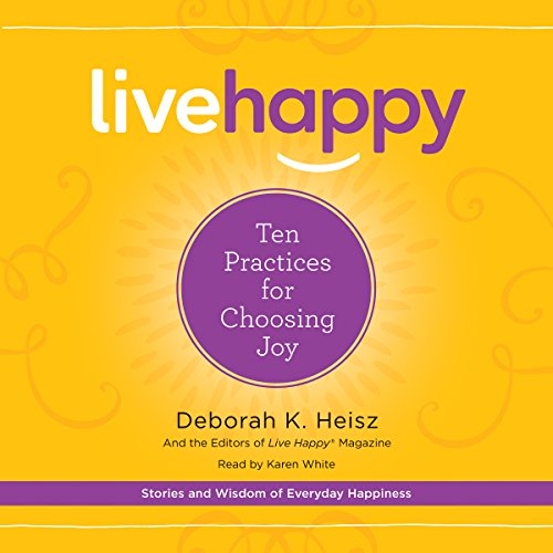 Live Happy audiobook cover art