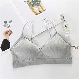 OneChange Sexy Halter Tops Sports Bra Sports Bra, Bras Bralette V-Neck T-Shirt Brassiere Sport Femme Seamless Underwear Pu...