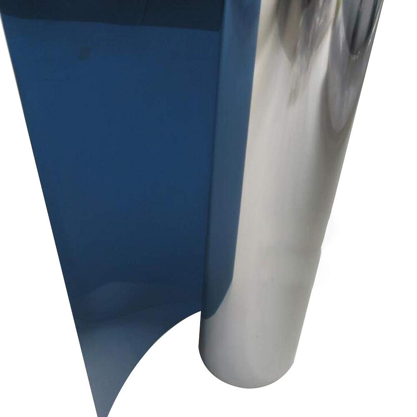 視聴者リビングルーム同性愛者OUPAI 窓フィルム 一方向ウィンドウフィルム、反紫外線熱制御反射ガラスの色合い昼間のプライバシーミラーフィルムホームやサンルームのために取り外し可能3個24インチ×3フィート ガラスフィルム (Size : 35inch × 3feet)