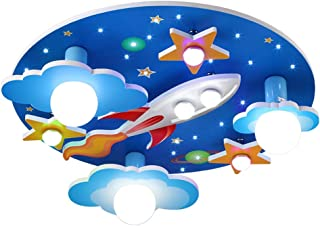 UYZ Lámpara de Techo Lámpara para niños Lámpara de Techo LED / E27x3, E14x2 Bombilla incluida/Araña Cohete Focos para habi...