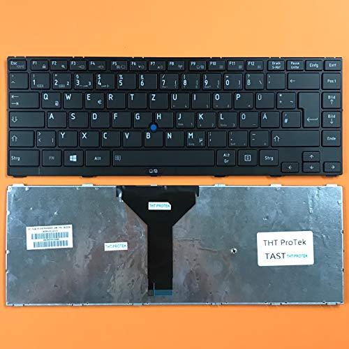 kompatibel für Toshiba Tecra R940 DEUTSCHE - Schwarz Tastatur Keyboard mit Mausstick