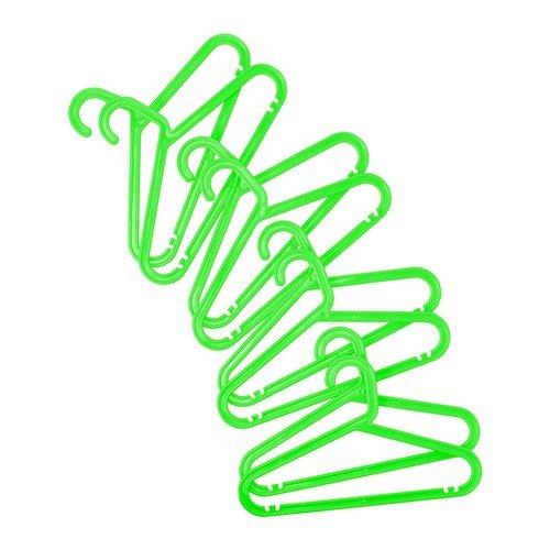 IKEA SPRUTT Hosenbügel / Kinderbügel breite 34cm 8St. Fabe nach Wahl (grün)