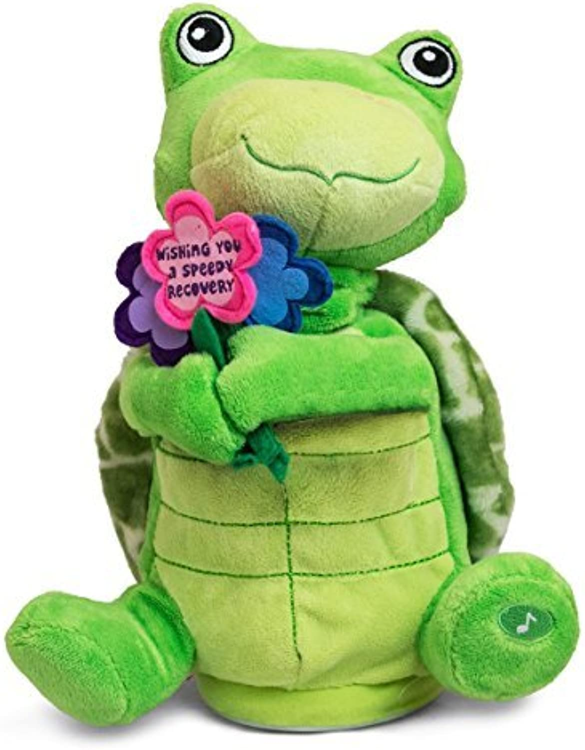 comprar ahora The Petting Zoo Animated Stuffed Stuffed Stuffed Turtle, Wishing You a Speedy Recovery by The Petting Zoo  descuento de bajo precio