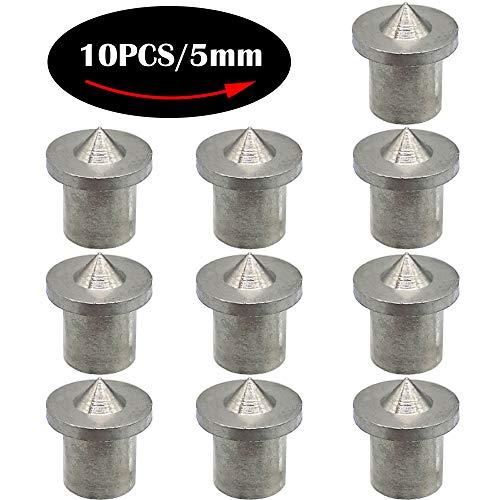 CESFONJER Holzdübel-Zentrierspitzen | dübelmarkierer | dübelspitzen, 5 mm (10 Stk.)