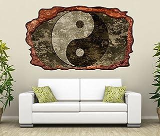 3D Wandtattoo Yin & Yang Symbol Feng Shui Zen selbst