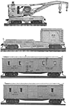 Work Train Set - Kit pkg(4) -- Undecorated