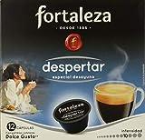 Comprar Café Fortaleza ? Cápsulas Compatibles con Dolce Gusto, Sabor Despertar, Intenso, Especial Desayuno, 100% Arábica, Tueste Natural, Pack 10x3 - Total 30 uds en Amazon