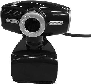 DEALPEAK Clip-on Web Camera USB 2.0 Webcam Built in Microphone for PC Computer Laptop Desktop