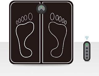 YJPQ Masajeador Eléctrico del Cojín del Estimulador del Pie USB Recargable Control Remoto Masaje Portátil Enrollable De Silicona Suave