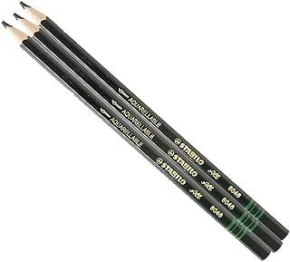 3X Stabilo-All Pencils, Black (Black)