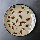 Generic Speiseteller Austern Teller Brotteller Dessertteller Fondueteller Käse Kuchen Tortenplatten Pasta Pizza Platz Salat Suppen Sushi 8.5 Zoll Rund Nach Hause Kreativ F 6 Stück