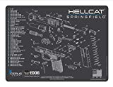 EDOG Springfield Armory Hellcat Cerus Gear Schematic (Exploded View) Heavy Duty Pistol Cleaning 12x17 Padded Gun-Work Surface Protector Mat Solvent & Oil Resistant