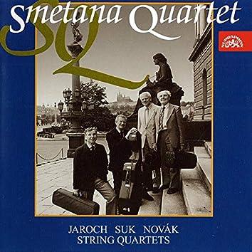 Jaroch, Suk, Novák: String Quartets