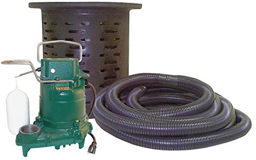 Space Sump Pump With Kit