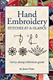 Hand Embroidery Stitches At-A-Glance: Carry-Along Reference Guide (Landauer) Pocket-Size...