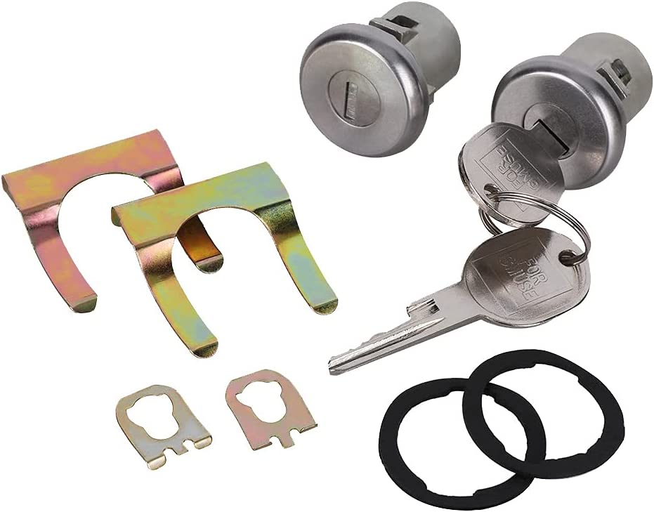 Door Lock Cylinder Motor Set Right Latest item Left Compatible Front w High quality