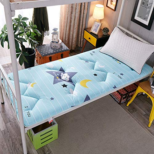 HLDBW Cojín japonés Espesar futón Tatami colchón Antideslizante Suave colchón futón Plegable tapetes de Estudiantes compartida Litera Inicio Cama durmiendo Almohadillas de algodón