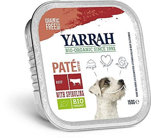Yarrah Bio Pâté au Poulet/Bœuf pour Chien 150 g