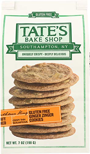 Tates Bake Shop, Ginger Zinger Cookies, 7 Ounce