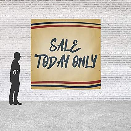 CGSignLab Nostalgia Stripes Heavy-Duty Outdoor Vinyl Banner Sale Today Only 8x8