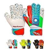 meteor Guantes Portero Goalkeeper Gloves Entrenamiento Futbol Equipacion fútbol niños niños - protección para los Dedos Defence