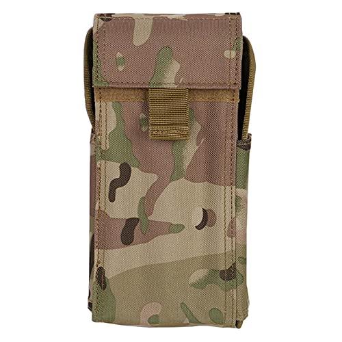 NLLeZ 1 unid táctico 25 Ronda munición cáscara Bolsa 12 Calibre Molle Cintura Bolsa disparando Pistola Titular de Bala Rifle Cartucho de Caza Accesorios (Color : CP)