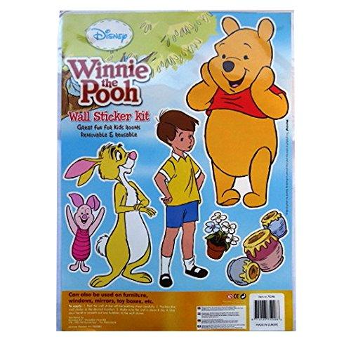 Disney Gros Paquet d'autocollants de Décoration Murale - Winnie The Pooh & Copains