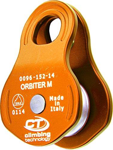 Climbing Technology Orbiter M, Carrucola Unisex – Adulto, Aragosta, Taglia Unica