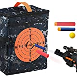 YOUTHUP Target Pouch Storage Carry Equipment Bag, Target Bag Backpack Multifunctional Soft Bullet for N-Strike Elite, Mega, and Rival Series Guns