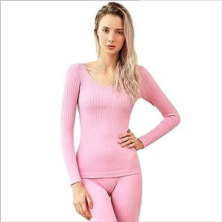 KKPOU Vest Winter Ladies Body Shapers Body Slim Thermal Underwear Lace Tank Tops 60KG-70KG Black