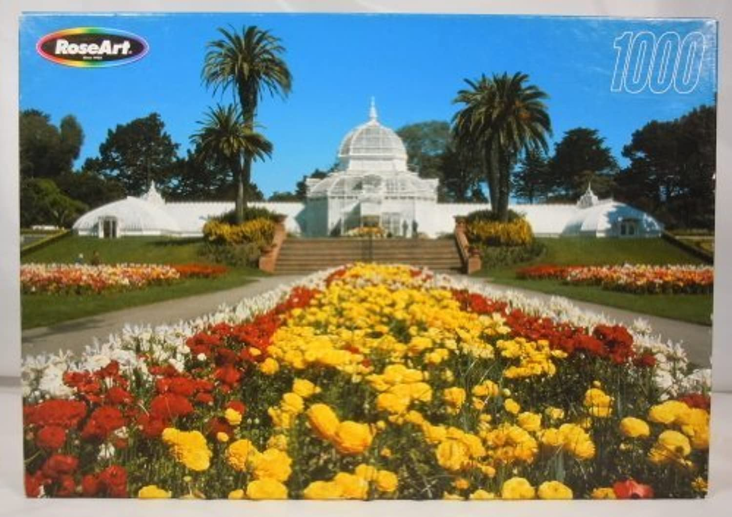 pinkart Jigsaw Puzzle  golden Gate Park  1000 Pieces by Warren Industries