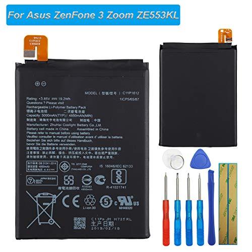 E-yiiviil C11P1612 Batterie de Rechange Compatible avec ASUS ZenFone 3 Zoom S ZE553KL avec Outils